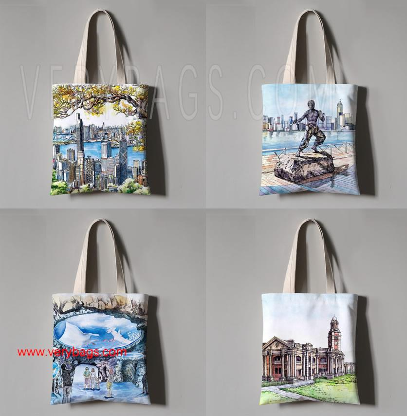 Print Cotton Bag